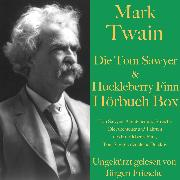 Cover-Bild zu Twain, Mark: Mark Twain: Die Tom Sawyer & Huckleberry Finn Hörbuch Box (Audio Download)