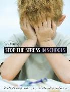 Cover-Bild zu Stop the Stress in Schools von Mandel, Joey