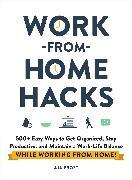 Cover-Bild zu Work-from-Home Hacks von Frost, Aja