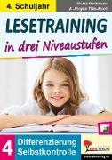 Cover-Bild zu Lesetraining in drei Niveaustufen / Klasse 4 (eBook) von Hartmann, Horst