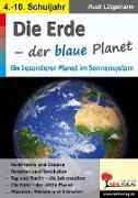Cover-Bild zu Die Erde - der blaue Planet (eBook) von Lütgeharm, Rudi