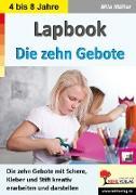 Cover-Bild zu Lapbook Die zehn Gebote (eBook) von Müller, Mila