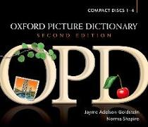 Cover-Bild zu Adelson-Goldstein, Jayme: Oxford Picture Dictionary Second Edition: Audio CDs