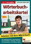 Cover-Bild zu Wörterbucharbeitskartei (eBook) von Vatter-Wittl, Christiane