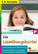 Cover-Bild zu Die Leseübungskartei (eBook) von Vatter-Wittl, Christiane