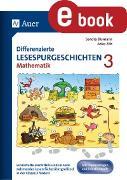Cover-Bild zu Differenzierte Lesespurgeschichten Mathematik 3 (eBook) von Blomann, Sandra