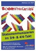 Cover-Bild zu Hoff, Andreas von: Stationenmusizieren mit Boomwhackers (eBook)