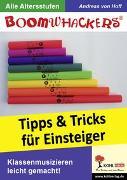 Cover-Bild zu Hoff, Andreas von: Boomwhackers - Tipps und Tricks für Einsteiger (eBook)