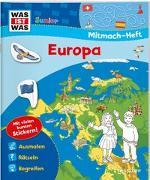 Cover-Bild zu WAS IST WAS Junior Mitmach-Heft. Europa von Marti, Tatjana