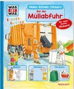 Cover-Bild zu WAS IST WAS Kindergarten Malen Rätseln Stickern Bei der Müllabfuhr von Marti, Tatjana