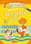 Cover-Bild zu Mein bunter Vorschulblock mit Schwungübungen von Odersky, Eva