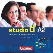 Cover-Bild zu Studio d, Deutsch als Fremdsprache, Grundstufe, A2: Teilband 1, Audio-CD