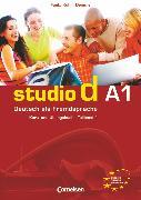 Cover-Bild zu Studio d, Deutsch als Fremdsprache, Grundstufe, A1: Teilband 1, Kurs- und Übungsbuch mit Lerner-Audio-CD, Hörtexte der Übungen von Bayerlein, Oliver