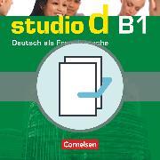 Cover-Bild zu Studio d, Deutsch als Fremdsprache, Grundstufe, B1: Gesamtband, Kurs- und Übungsbuch mit Lerner-Audio-CD und Sprachtraining, 20719-2 und 20720-8 im Paket