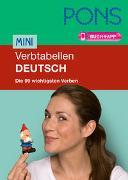 Cover-Bild zu PONS Mini-Verbtabellen Deutsch