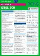 Cover-Bild zu PONS Grammatik auf einen Blick Englisch