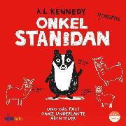 Cover-Bild zu Onkel Stan und Dan und das fast ganz ungeplante Abenteuer (Audio Download) von Kennedy, A.L.