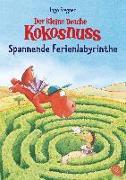 Cover-Bild zu Der kleine Drache Kokosnuss - Spannende Ferienlabyrinthe