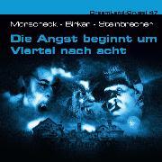 Cover-Bild zu Dreamland Grusel, Folge 47: Die Angst beginnt um Viertel nach acht (Audio Download) von Morscheck, Sven