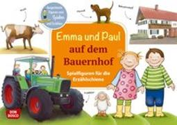 Cover-Bild zu Lehner, Monika: Emma und Paul auf dem Bauernhof. Spielfiguren für die Erzählschiene