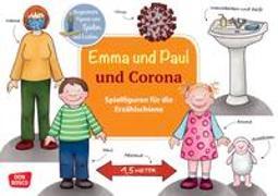 Cover-Bild zu Lehner, Monika: Emma und Paul und Corona. Spielfiguren für die Erzählschiene