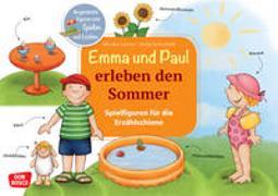 Cover-Bild zu Lehner, Monika: Emma und Paul erleben den Sommer. Spielfiguren für die Erzählschiene