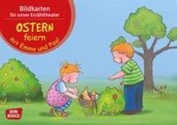 Cover-Bild zu Lehner, Monika: Ostern feiern mit Emma und Paul. Kamishibai Bildkartenset