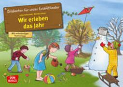 Cover-Bild zu Lehner, Monika: Wir erleben das Jahr. Kamishibai Bildkartenset