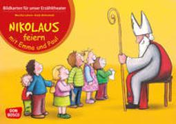 Cover-Bild zu Lehner, Monika: Nikolaus feiern mit Emma und Paul. Kamishibai Bildkartenset