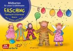 Cover-Bild zu Lehner, Monika: Fasching, Fastnacht & Karneval mit Emma und Paul. Kamishibai Bildkartenset