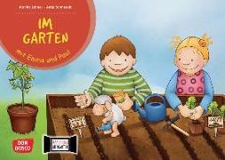 Cover-Bild zu Lehner, Monika: Im Garten mit Emma und Paul. Kamishibai Bildkartenset