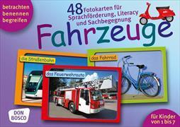 Cover-Bild zu Lehner, Monika: Fahrzeuge. Sprachförderung, Literacy und Sachbegegnung in der Kita