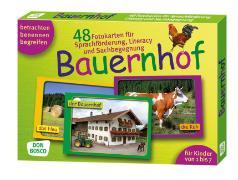 Cover-Bild zu Lehner, Monika: Bauernhof. Sprachförderung und Sachbegegnung in der Kita