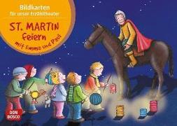 Cover-Bild zu Lehner, Monika: St. Martin feiern mit Emma und Paul. Kamishibai Bildkartenset