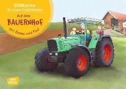 Cover-Bild zu Lehner, Monika: Auf dem Bauernhof mit Emma und Paul. Bildkartenset