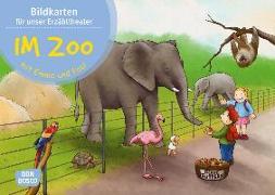 Cover-Bild zu Lehner, Monika: Im Zoo mit Emma und Paul. Kamishibai Bildkartenset