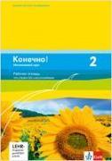 Cover-Bild zu Konetschno! Band 2. Russisch als 3. Fremdsprache. Intensivnyj Kurs. Arbeitsheft mit 2 Audio-CD und Lernsoftware zum Download