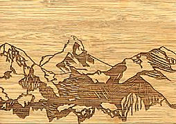 Cover-Bild zu 27332 Bambus Matterhorn GVA_Swiss_Icons103