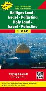Cover-Bild zu Heiliges Land - Israel - Palästina, Autokarte 1:150.000, Top 10 Tips. 1:150'000