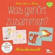 Cover-Bild zu Mein Maxi-Memo - Was gehört zusammen? - Märchenwelt