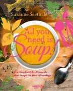 Cover-Bild zu All you need is soup von Seethaler, Susanne