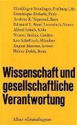 Cover-Bild zu Luyten, Norbert A (Hrsg.): Wissenschaft und gesellschaftliche Verantwortung