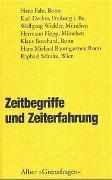 Cover-Bild zu Baumgartner, Hans M (Hrsg.): Zeitbegriffe und Zeiterfahrung
