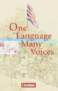 Cover-Bild zu Cornelsen Senior English Library, Literatur, Ab 11. Schuljahr, One Language, Many Voices, Textband mit Annotationen