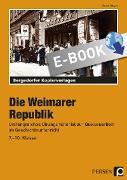 Cover-Bild zu Die Weimarer Republik (eBook) von Meyer, Rudolf