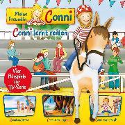 Cover-Bild zu 06: Conni lernt reiten / Conni am Strand / Conni in den Bergen / Conni macht Musik (Vier Hörspiele zur TV-Serie) (Audio Download) von Schneider, Liane