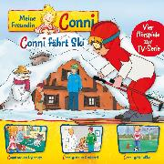 Cover-Bild zu 05: Conni fährt Ski / Conni und der Osterhase / Conni geht zum Kinderarzt / Conni spielt Fußball (Vier Hörspiele zur TV-Serie) (Audio Download) von Schneider, Liane