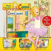 Cover-Bild zu 03: Conni tanzt / Conni lernt die Uhrzeit / Conni lernt Rad fahren / Conni lernt backen (Vier Hörspiele zur TV-Serie) (Audio Download) von Schneider, Liane