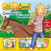 Cover-Bild zu 02: Conni auf dem Bauernhof / Conni schläft im Kindergarten / Conni geht zum Zahnarzt / Connis erster Flug (Vier Hörspiele zur TV-Serie) (Audio Download) von Schneider, Liane