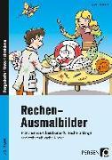 Cover-Bild zu Rechen-Ausmalbilder von Kirschbaum, Klara